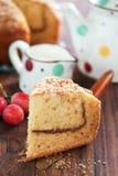 Yogurt coffee cake Stock Images