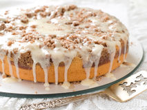 Yogurt coffee cake Royalty Free Stock Photos