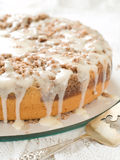 Yogurt coffee cake Stock Image