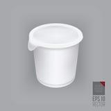 Yogurt container  Royalty Free Stock Photo