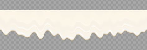 Yogurt creamy liquid or cream melt splash flowing background. Vector white milk splash or ice cream flow soft seamless texture. Repeat gradient mesh vector illustration