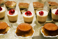 Yogurt Cup and Deserts Stock Photography