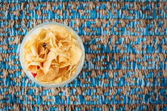 Yogurt del cereale Fotografie Stock
