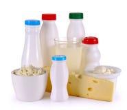 Yogurt del formaggio del latte Immagine Stock Libera da Diritti