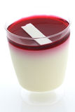 Yogurt della fragola Immagine Stock Libera da Diritti