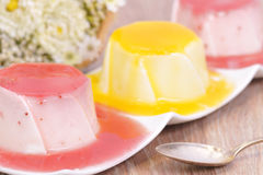 Yogurt dessert Royalty Free Stock Photography
