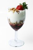 Yogurt dessert Royalty Free Stock Image