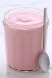 Yogurt francese di stile delle bacche Fotografie Stock Libere da Diritti