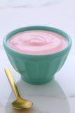 Yogurt francese di stile delle bacche Fotografia Stock