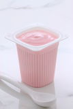 Yogurt francese di stile delle bacche Fotografie Stock