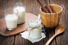 Yogurt Stock Image