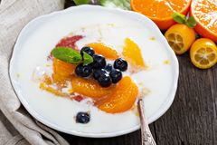 Fruit Compote Dessert Stock Photos & Images