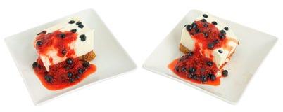 Yogurt and  honey pie Royalty Free Stock Image
