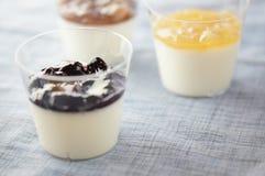 Yogurt Jelly Royalty Free Stock Photos