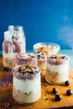 Yogurt parfait Stock Photos