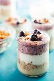Yogurt parfait Stock Photography