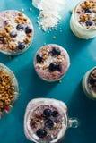 Yogurt parfait Royalty Free Stock Photos