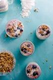 Yogurt parfait Royalty Free Stock Photo