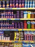 Yogurts and dairy products Stock Image