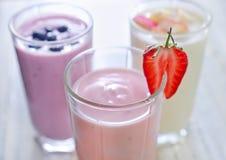Yogurts Stock Photo