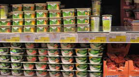 Yogurts Royalty Free Stock Photos