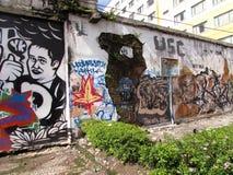 Yogyakarta ściany sztuka - Indonezja 2 Zdjęcia Stock