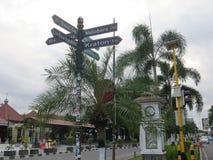 Yogyakarta city street stock photos