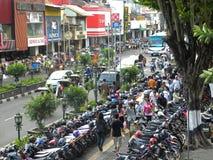 Yogyakarta i Indonesien Arkivfoto