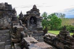 Yogyakarta Indonesië Java van de Borobudurtempel Royalty-vrije Stock Foto's