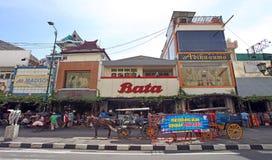 Yogyakarta in Indonesia Stock Photo