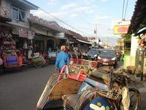 Yogyakarta street market Stock Photos