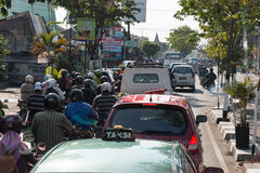 Yogyakarta. Traffic Yogyakarta City Asia Java Royalty Free Stock Photography