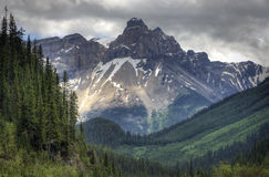 Yoho National Park. In British Columbia Canada. The rugged Rocky Mountains as a backdrop Royalty Free Stock Photography