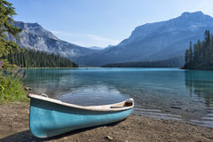 Yoho Park Emerald Lake photographie stock