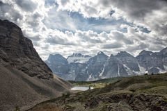 Yoho park glacier view Royalty Free Stock Images