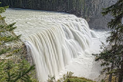 Yoho Park Wapta falls Stock Photo