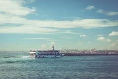 yohohama пассажирского корабля японии гавани стоковое фото rf