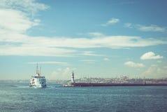 yohohama пассажирского корабля японии гавани стоковое изображение rf