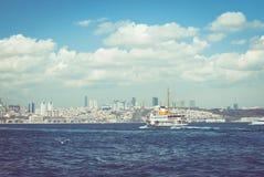 yohohama пассажирского корабля японии гавани стоковые изображения rf