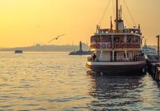 yohohama пассажирского корабля японии гавани Стоковое Фото