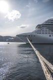 yohohama пассажирского корабля японии гавани Стоковая Фотография