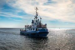 yohohama för ship för hamnjapan passagerare Arkivfoton