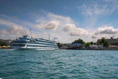 Yohohama Hafen, Japan lizenzfreies stockbild
