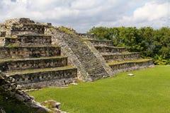 Yohualichan VI Stock Image