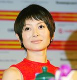 Yoko Maki at Moscow Film Festival Stock Photos