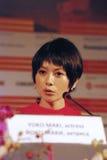 Yoko Maki at Moscow Film Festival Royalty Free Stock Photos