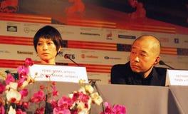 Yoko Maki and Tatsushi Oomori Royalty Free Stock Images