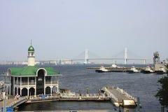 yokohama γεφυρών κόλπων Στοκ φωτογραφία με δικαίωμα ελεύθερης χρήσης