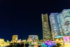 Yokohama, Ιαπωνίας - 24.2015 Νοεμβρίου: Η πόλη Yokohama, Yokohama είναι Στοκ εικόνες με δικαίωμα ελεύθερης χρήσης