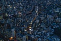 Yokohama - Ιαπωνία, στις 15 Ιουνίου 2017  Εναέρια άποψη Yokohama από το τ Στοκ Φωτογραφίες